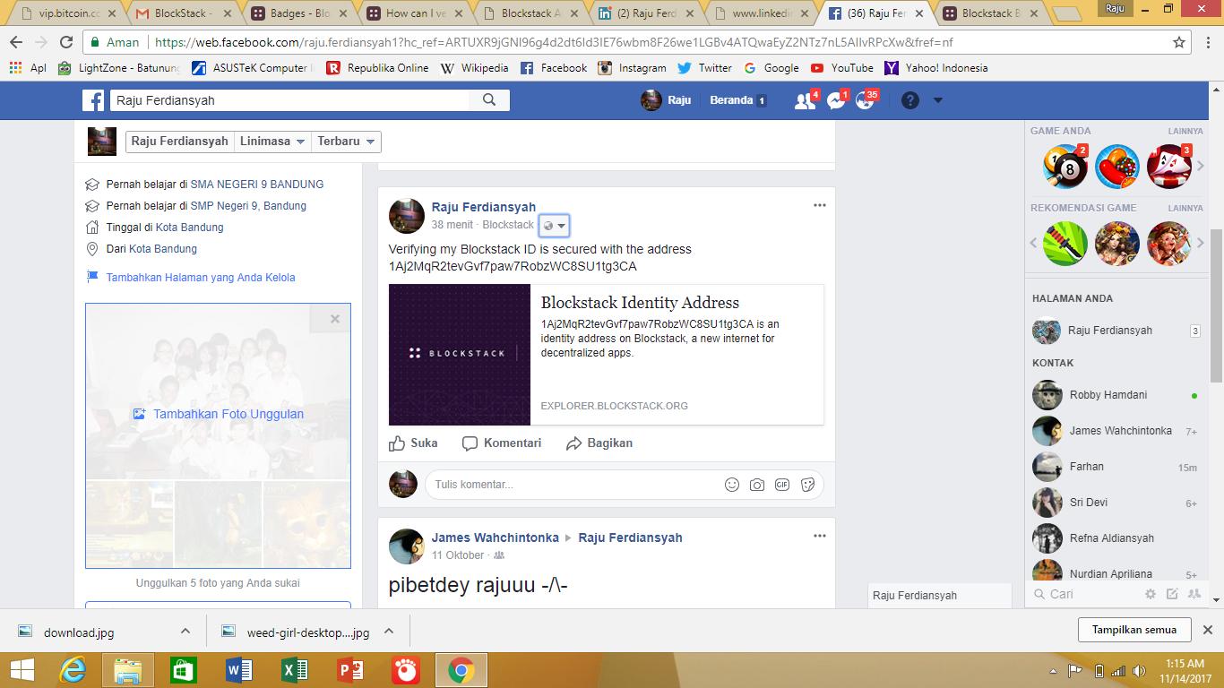 How can I verify my Facebook account? - FAQ - Blockstack Forum